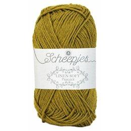 Scheepjes Linen Soft olijfgroen (610)