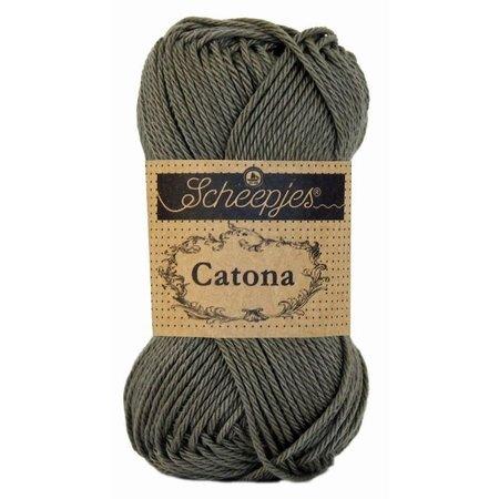 Scheepjes Catona 50 Dark Olive (387)