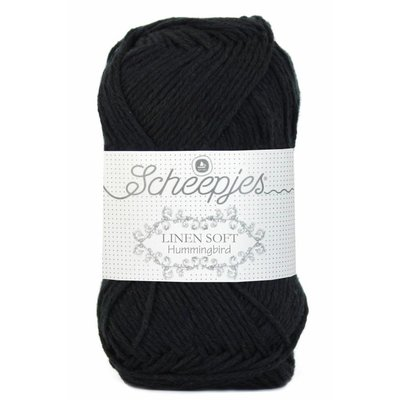 Scheepjes Linen Soft 632- zwart