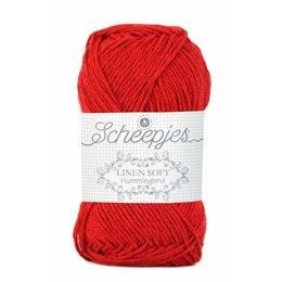 Scheepjes Linen Soft 633 - knalrood