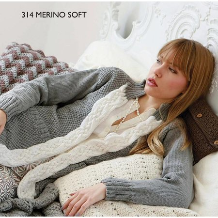 Scheepjes Breipakket: Vest van Merino Soft (S 314)