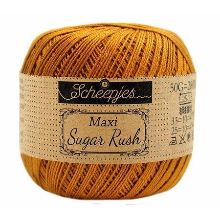 Scheepjes Sugar Rush Ginger Gold (383)