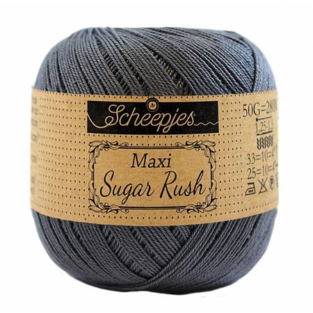 Scheepjes Sugar Rush Charcoal (393)