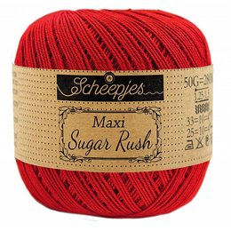 Scheepjes Sugar Rush 722 - Red