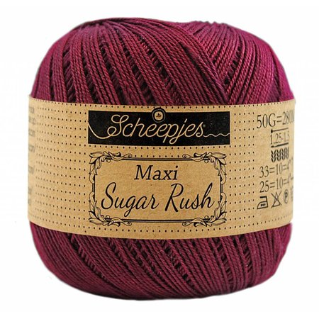 Scheepjes Sugar Rush 750 - Bordeau
