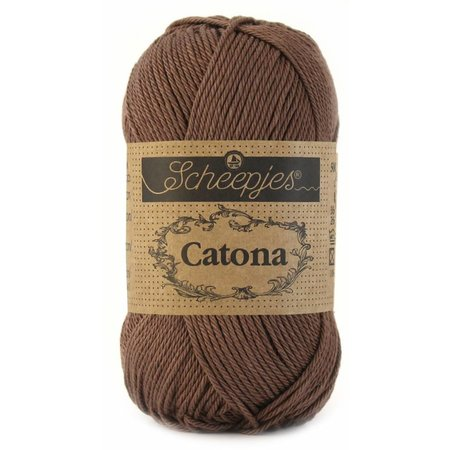 Scheepjes Catona 25 gram - 507 - Chocolate