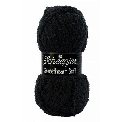 Scheepjes Sweetheart Soft 4 - Zwart