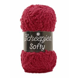 Scheepjes Softy 490 - Donkerrood