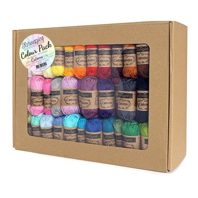 Scheepjes Catona 10 gram Colour Pack