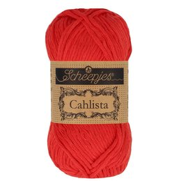 Scheepjes Cahlista Hot Red (115)
