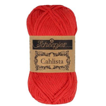 Scheepjes Cahlista 115 - Hot Red