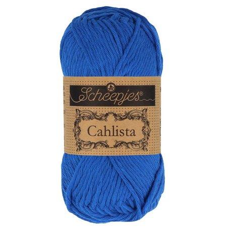 Scheepjes Cahlista 201 - Electric Blue