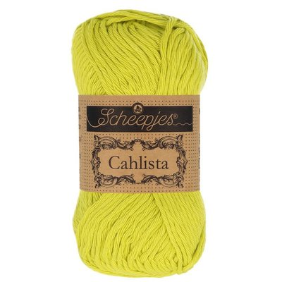 Scheepjes Cahlista Green Yellow (245)
