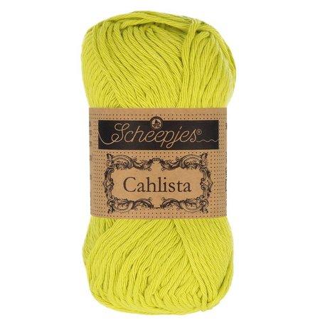 Scheepjes Cahlista 245 - Green Yellow
