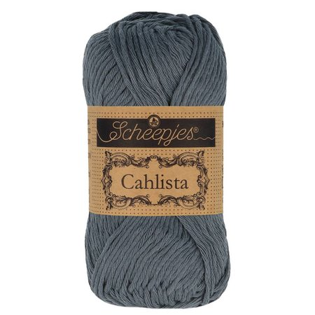 Scheepjes Cahlista Charcoal (393)