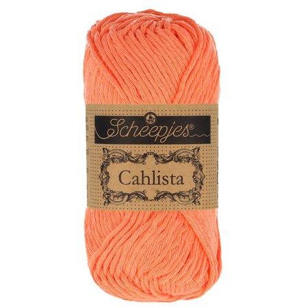 Scheepjes Cahlista Rich Coral (410)