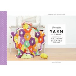 Scheepjes Yarn afterparty 14 Hexagon Blanket
