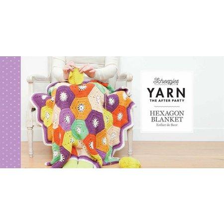Scheepjes Haakpakket: Hexagon deken van Scheepjes Merino Soft