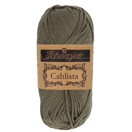 Scheepjes Cahlista Dark Olive (387)