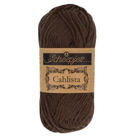 Scheepjes Cahlista Black Coffee (162)