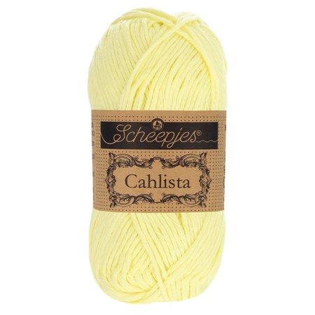 Scheepjes Cahlista 100 - Lemon Chiffon