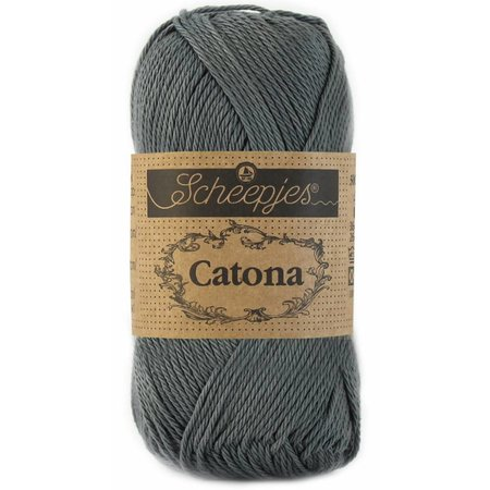 Scheepjes Catona 10 gram - 501 - Anthracite