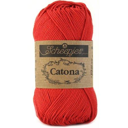 Scheepjes Catona 10 gram - 516 - Candy Apple
