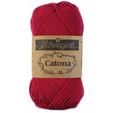 Scheepjes Catona 10 gram Ruby (517)