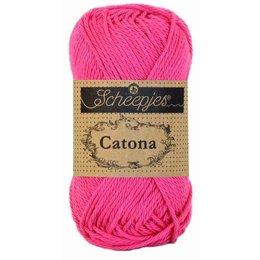 Scheepjes Catona 10 gram - 114 - Shocking Pink