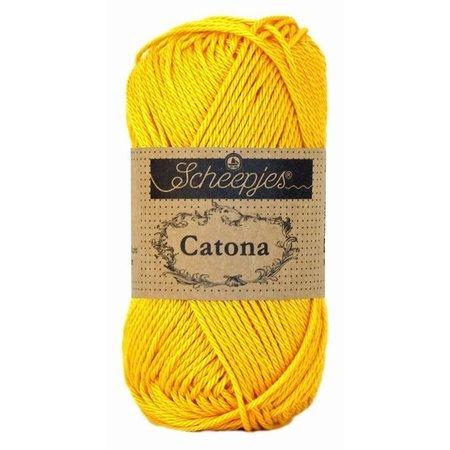 Scheepjes Catona 10 gram - 208 - Yellow Gold