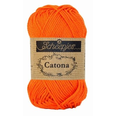 Scheepjes Catona 10 gram - 189 - Royal Orange