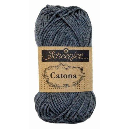 Scheepjes Catona 10 gram Charcoal (393)
