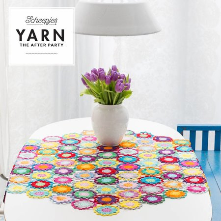 Scheepjes Yarn afterparty 11 Garden Room Tablecloth