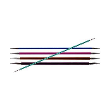 KnitPro Zing Sokkennaalden (15 cm lengte)