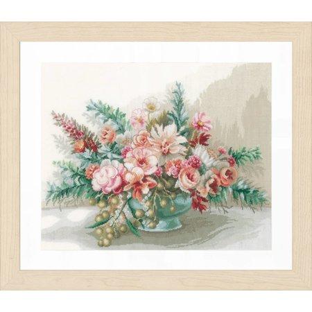 Lanarte Borduurpakket Bloemenboeket