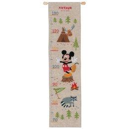 Vervaco Borduurpakket Groeimeter Mickey Mouse