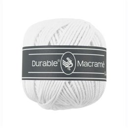 Durable Macramé 310 - White