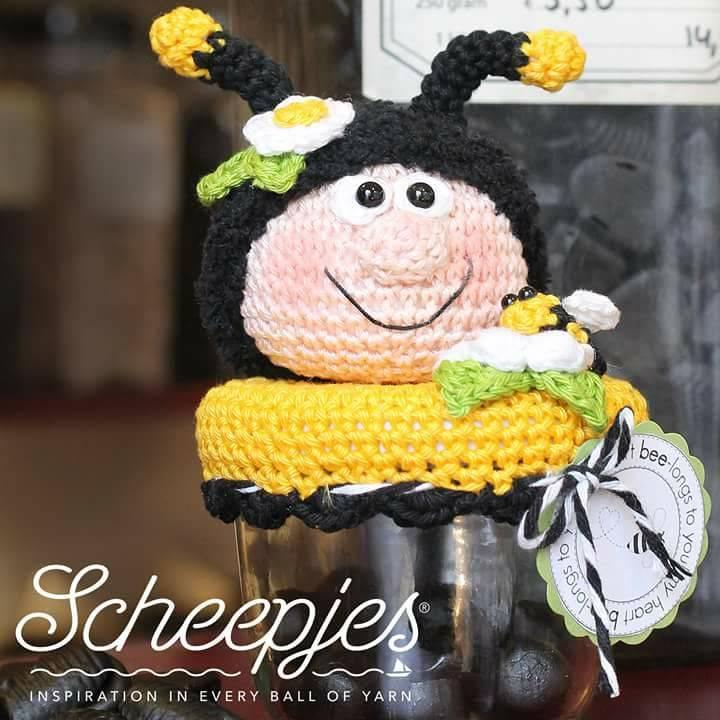 Bizzy Bee Potjes Haken Klaske Van Der Bij Gers Gestyled