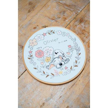 Vervaco Borduurpakket  Little Dalmatier rond