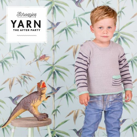Scheepjes Yarn afterparty 22 Dino Hunter Sweater