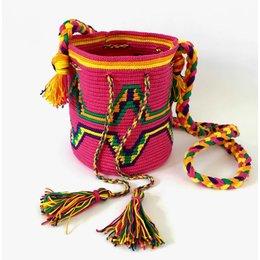 de ligny creations Mochila Hot Pink