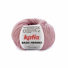 Katia Basic Merino 69 - donker bleekrood