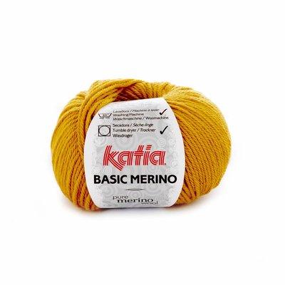 Katia Basic Merino mosterdgeel (41)