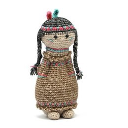 Scheepjes Garenpakket: Geefbeestje Indianenmeisje