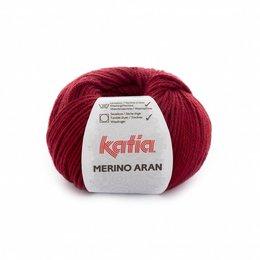 Katia Merino Aran 51 - licht wijnrood