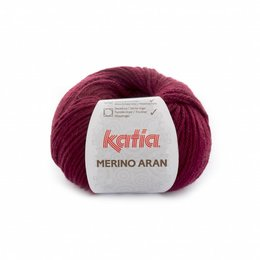 Katia Merino Aran 23 - donker wijnrood