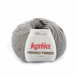 Katia Merino Tweed 307 - licht grijs
