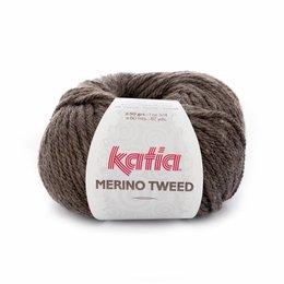 Katia Merino Tweed 303 - bruin
