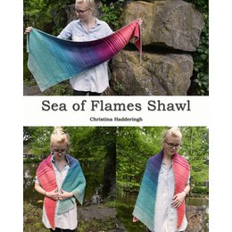Scheepjes Garenpakket: Sea of Flames Shawl