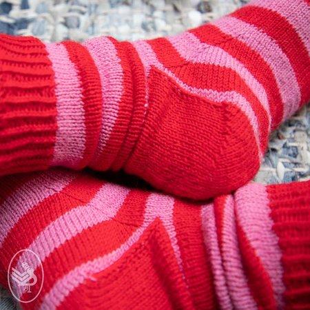 Durable Breipakket: Stripy Soqs